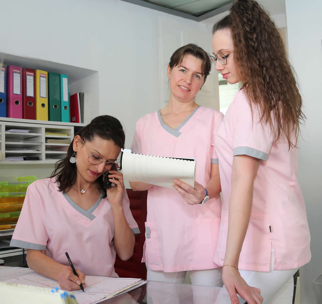 D-Aichinger-Dr-Maier-Assistentinnen-1